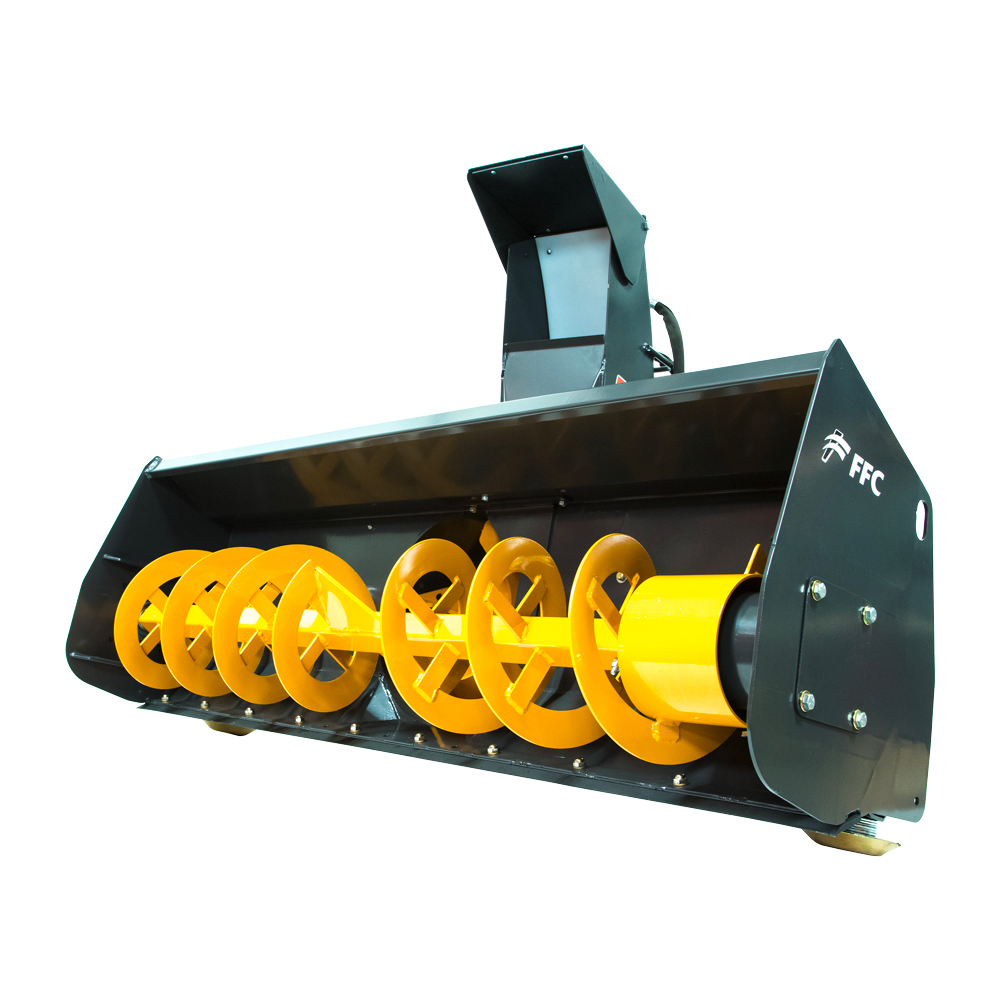 Vermeer Snow Blower Attachment for Mini Skidsteer